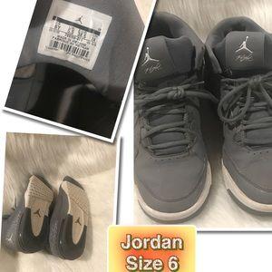 Jump High!!! Jordan's Gray size 6 youth